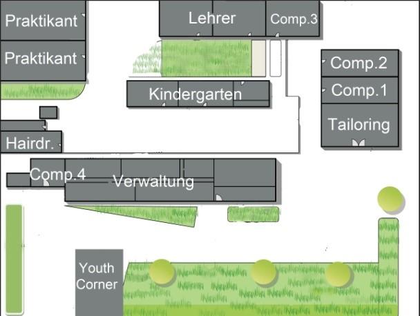 Grundriss des Somero Centers